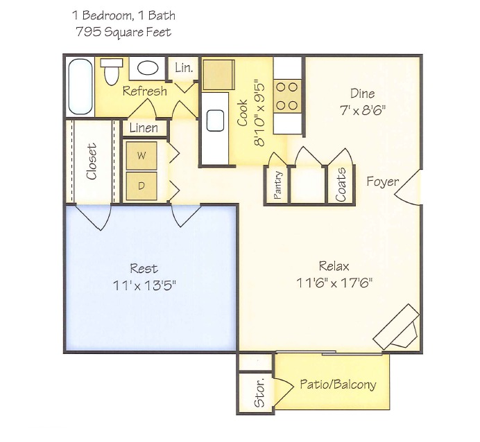 One Bedroom Apartments In Greenville Nc